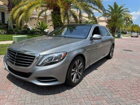2015 Mercedes-Benz S-Class for sale at CHECK  AUTO INC. in Tampa FL