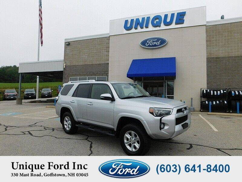 2018 Toyota 4Runner for sale at Unique Motors of Chicopee - Unique Ford in Goffstown NH