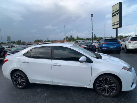 2016 Toyota Corolla for sale at Miami Vice Auto Sales in Miami FL