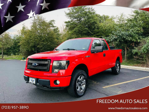 2013 Ford F-150 for sale at Freedom Auto Sales in Chantilly VA