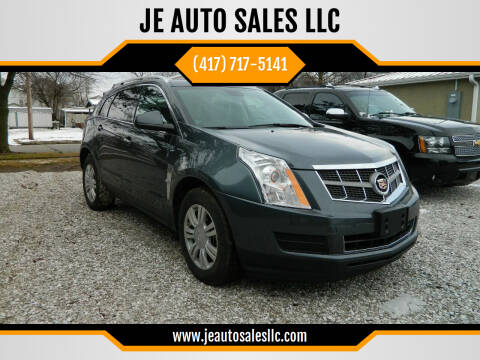 2012 Cadillac SRX for sale at JE AUTO SALES LLC in Webb City MO