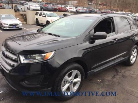 2016 Ford Edge for sale at J & M Automotive in Naugatuck CT