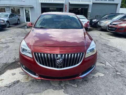 2015 Buick Regal for sale at America Auto Wholesale Inc in Miami FL