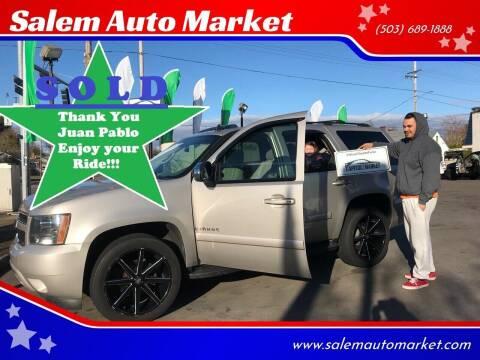 2007 Chevrolet Tahoe for sale at Salem Auto Market in Salem OR