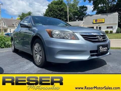 2012 Honda Accord for sale at Reser Motorsales in Urbana OH