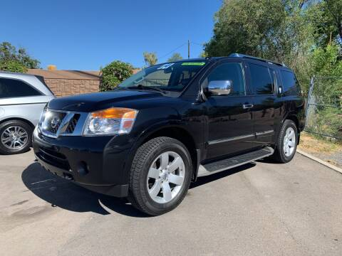 2014 Nissan Armada for sale at Berge Auto in Orem UT