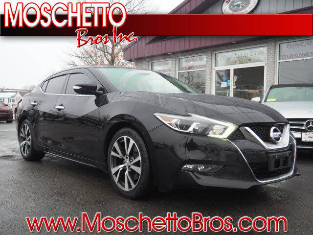 2017 Nissan Maxima for sale at Moschetto Bros. Inc in Methuen MA