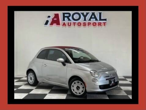 2012 FIAT 500c for sale at Royal AutoSport in Sacramento CA