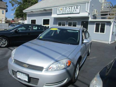 2009 Chevrolet Impala for sale at Gold Star Auto Sales in Johnston RI