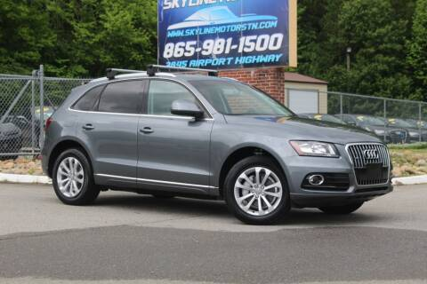 2013 Audi Q5 for sale at Skyline Motors in Louisville TN