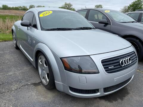 2001 Audi TT for sale at Alan Browne Chevy in Genoa IL