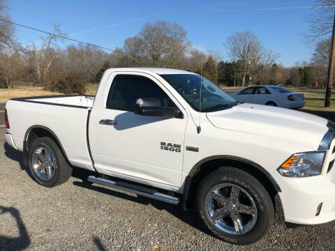 2017 RAM Ram Pickup 1500 for sale at Douthit Automotive, LLC in Advance NC
