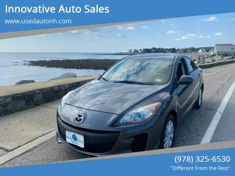 2012 Mazda MAZDA3 for sale at Innovative Auto Sales in North Hampton NH