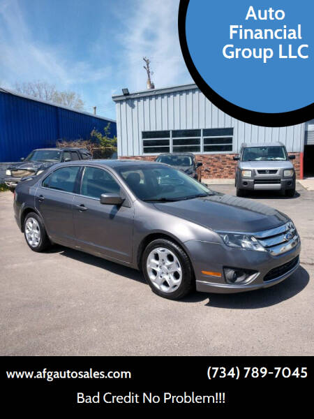 2011 Ford Fusion for sale at Auto Financial Group LLC in Flat Rock MI