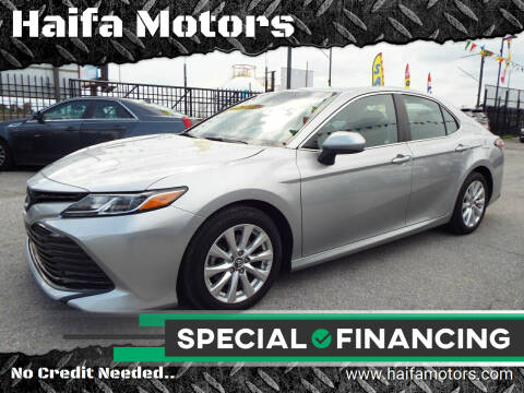 2018 Toyota Camry for sale at Haifa Motors in Philadelphia PA