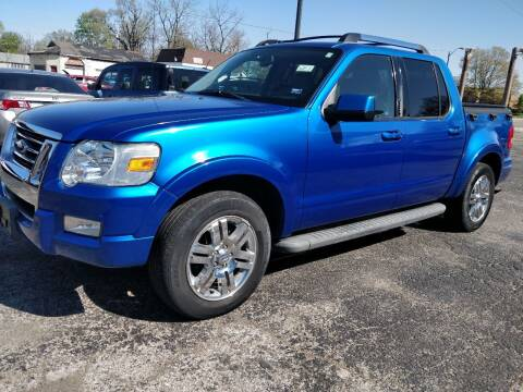 2010 Ford Explorer Sport Trac for sale at The Car Cove, LLC in Muncie IN
