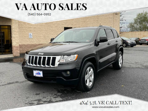 2012 Jeep Grand Cherokee for sale at Va Auto Sales in Harrisonburg VA