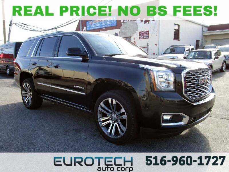 2018 GMC Yukon for sale at EUROTECH AUTO CORP in Island Park NY