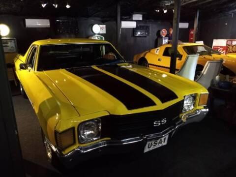 1972 Chevrolet El Camino for sale at Classic Car Deals in Cadillac MI