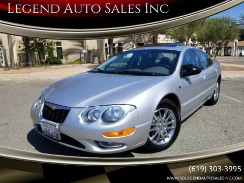 2002 Chrysler 300M for sale at Legend Auto Sales Inc in Lemon Grove CA