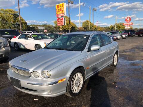 2007 Jaguar X-Type for sale at RJ AUTO SALES in Detroit MI