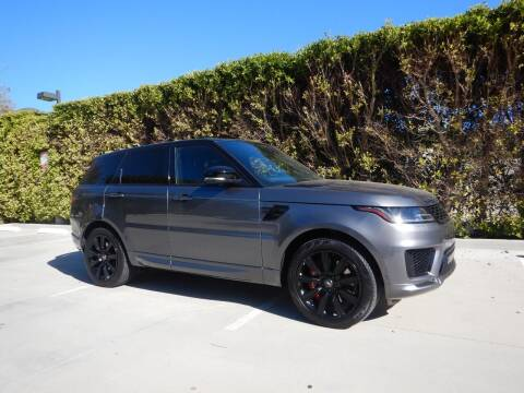 2018 Land Rover Range Rover Sport for sale at California Cadillac & Collectibles in Los Angeles CA