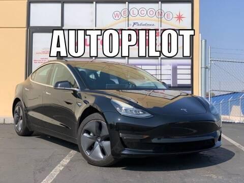 2017 Tesla Model 3 for sale at Las Vegas Auto Sports in Las Vegas NV