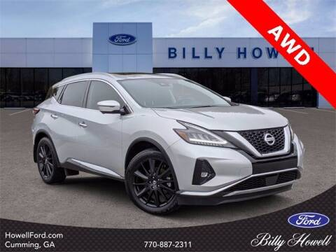 2019 Nissan Murano for sale at BILLY HOWELL FORD LINCOLN in Cumming GA