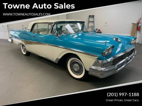 1958 Ford Fairlane 500 for sale at Towne Auto Sales in Kearny NJ