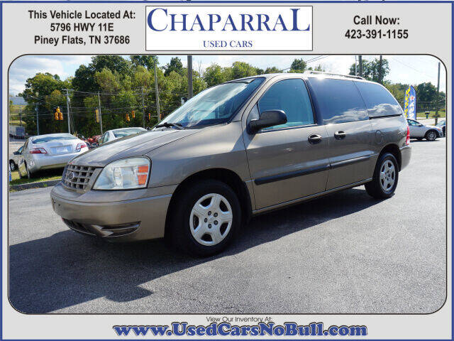 2006 Ford Freestar for sale at CHAPARRAL USED CARS in Piney Flats TN