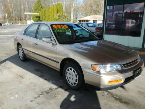 1994 Honda Accord for sale at Low Auto Sales in Sedro Woolley WA