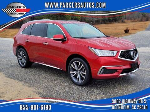 2019 Acura MDX for sale at Parker's Used Cars in Blenheim SC