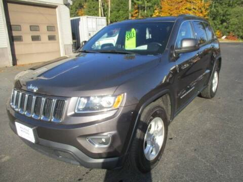 2015 Jeep Grand Cherokee for sale at Route 4 Motors INC in Epsom NH
