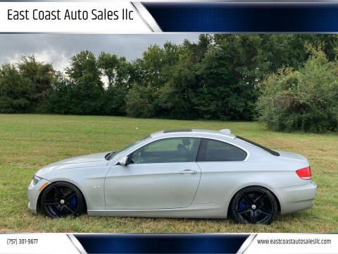 2007 BMW 3 Series for sale at East Coast Auto Sales llc in Virginia Beach VA
