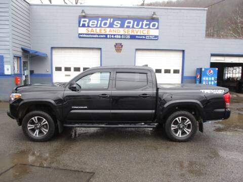 2017 Toyota Tacoma for sale at Reid's Auto Sales & Service in Emporium PA