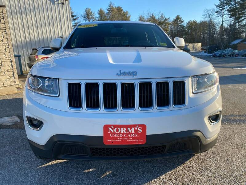 2014 Jeep Grand Cherokee for sale at NORM'S USED CARS INC - Trucks By Norm's in Wiscasset ME