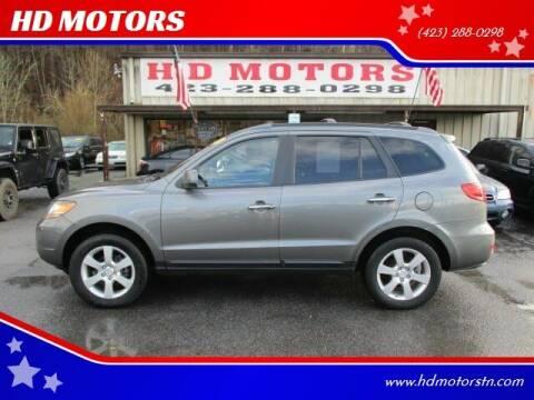 2009 Hyundai Santa Fe for sale at HD MOTORS in Kingsport TN