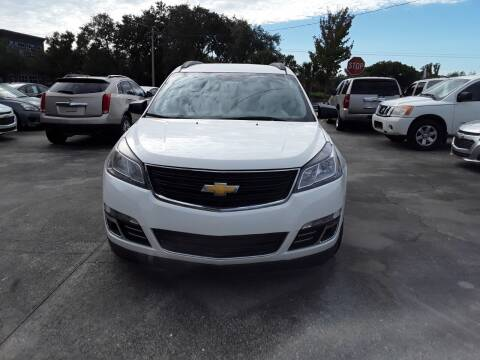2014 Chevrolet Traverse for sale at FAMILY AUTO BROKERS in Longwood FL