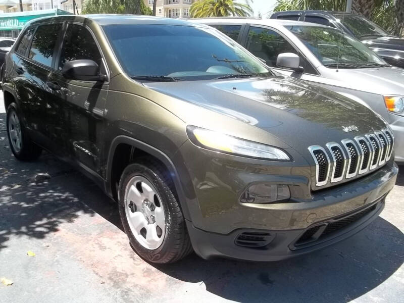 2014 Jeep Cherokee for sale at PJ's Auto World Inc in Clearwater FL