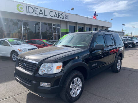 2007 Ford Explorer for sale at Ideal Cars in Mesa AZ