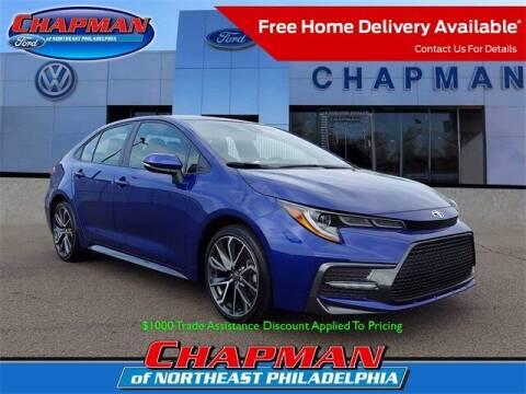 2020 Toyota Corolla for sale at CHAPMAN FORD NORTHEAST PHILADELPHIA in Philadelphia PA