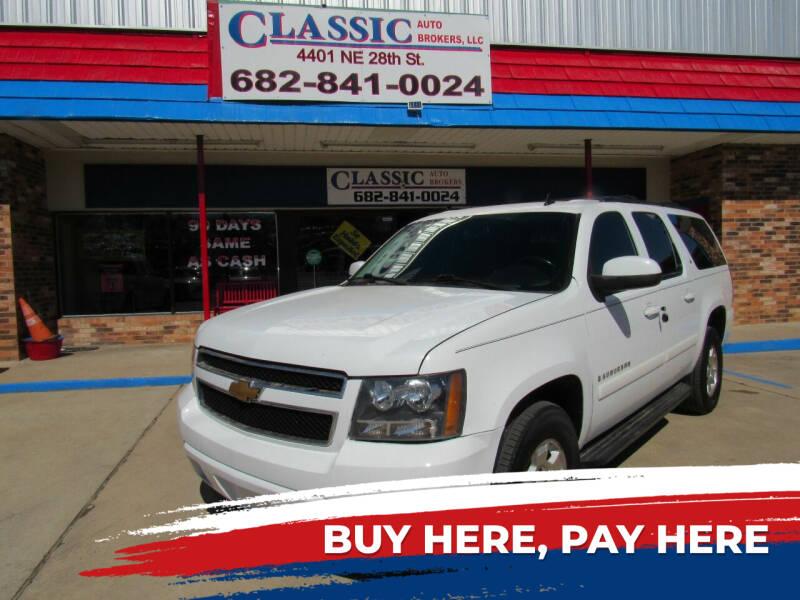 2009 Chevrolet Suburban for sale at Classic Auto Brokers in Haltom City TX