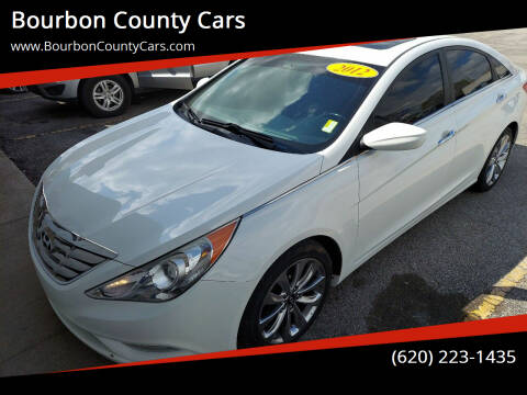 2012 Hyundai Sonata for sale at Bourbon County Cars in Fort Scott KS