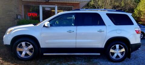 2010 GMC Acadia for sale at Progress Auto Sales in Durham NC