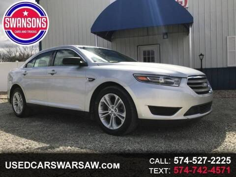 2017 Ford Taurus for sale at Swanson's Cars and Trucks in Warsaw IN