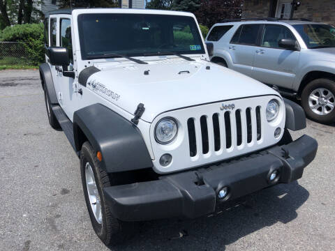 2017 Jeep Wrangler Unlimited for sale at Matt-N-Az Auto Sales in Allentown PA