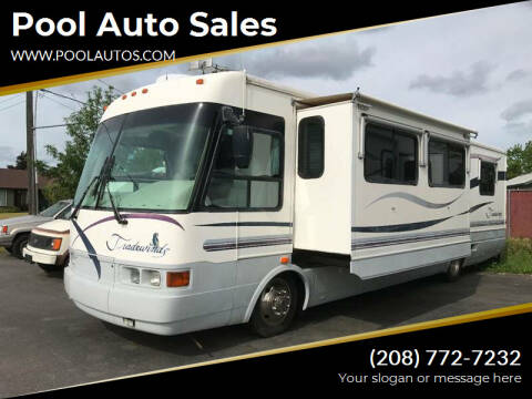 1998 National RV Tradewinds for sale at Pool Auto Sales in Hayden ID