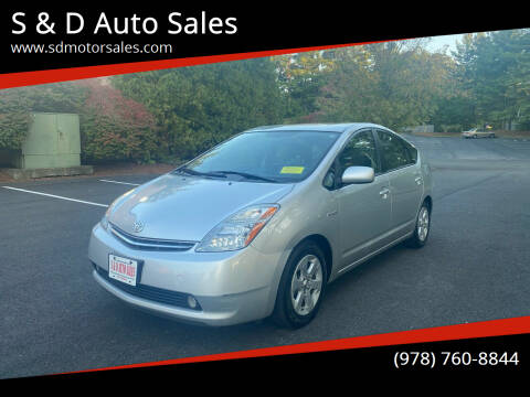 2006 Toyota Prius for sale at S & D Auto Sales in Maynard MA