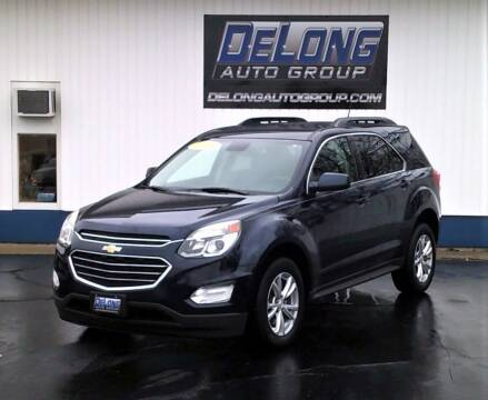 2016 Chevrolet Equinox for sale at DeLong Auto Group Kokomo in Kokomo IN