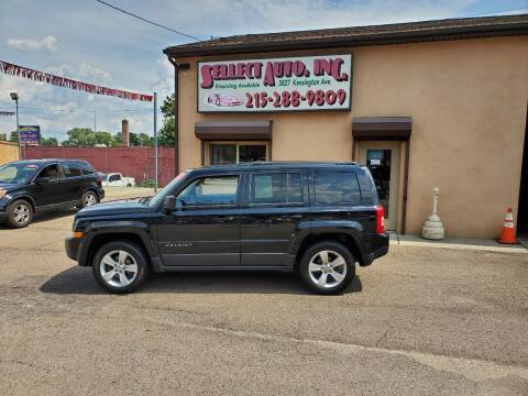 2013 Jeep Patriot for sale at SELLECT AUTO INC in Philadelphia PA